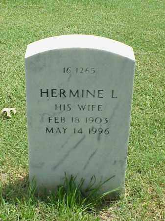 SOWDER, HERMINE L - Pulaski County, Arkansas | HERMINE L SOWDER - Arkansas Gravestone Photos
