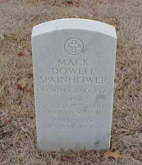 SPAINHOWER  (VETERAN WWII), MACK DOWELL - Pulaski County, Arkansas | MACK DOWELL SPAINHOWER  (VETERAN WWII) - Arkansas Gravestone Photos
