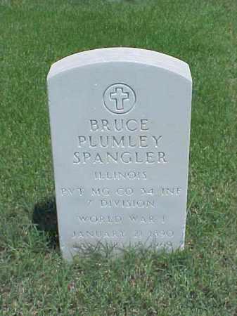 SPANGLER (VETERAN WWI), BRUCE PLUMLEY - Pulaski County, Arkansas | BRUCE PLUMLEY SPANGLER (VETERAN WWI) - Arkansas Gravestone Photos