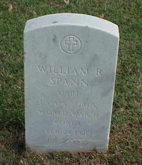 SPANN (VETERAN 2 WARS), WILLIAM R - Pulaski County, Arkansas | WILLIAM R SPANN (VETERAN 2 WARS) - Arkansas Gravestone Photos