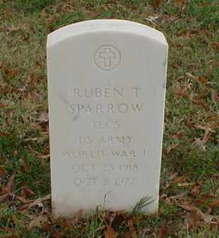 SPARROW (VETERAN WWII), RUBEN T - Pulaski County, Arkansas | RUBEN T SPARROW (VETERAN WWII) - Arkansas Gravestone Photos