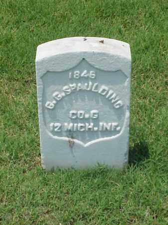 SPAULDING (VETERAN UNION), G G - Pulaski County, Arkansas | G G SPAULDING (VETERAN UNION) - Arkansas Gravestone Photos
