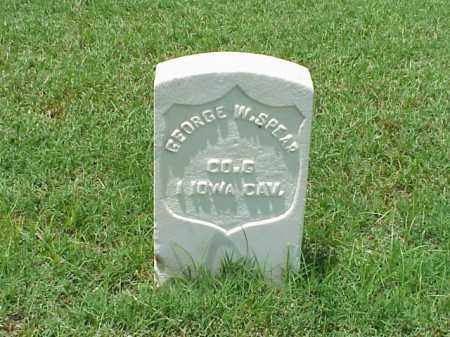 SPEAR (VETERAN UNION), GEORGE W - Pulaski County, Arkansas | GEORGE W SPEAR (VETERAN UNION) - Arkansas Gravestone Photos