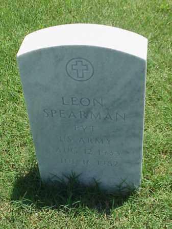 SPEARMAN (VETERAN WWII), LEON - Pulaski County, Arkansas   LEON SPEARMAN (VETERAN WWII) - Arkansas Gravestone Photos