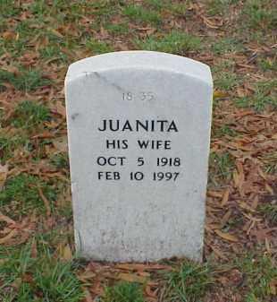 SPEARS, JUANITA - Pulaski County, Arkansas | JUANITA SPEARS - Arkansas Gravestone Photos