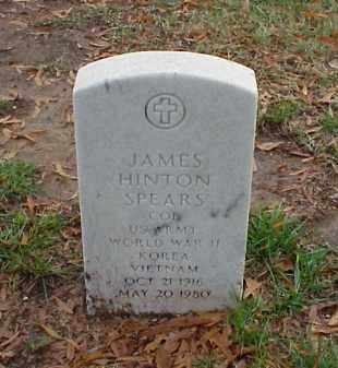 SPEARS (VETERAN 3 WARS), JAMES HINTON - Pulaski County, Arkansas | JAMES HINTON SPEARS (VETERAN 3 WARS) - Arkansas Gravestone Photos