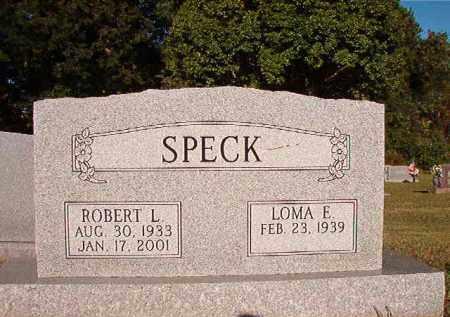 SPECK, ROBERT L - Pulaski County, Arkansas   ROBERT L SPECK - Arkansas Gravestone Photos