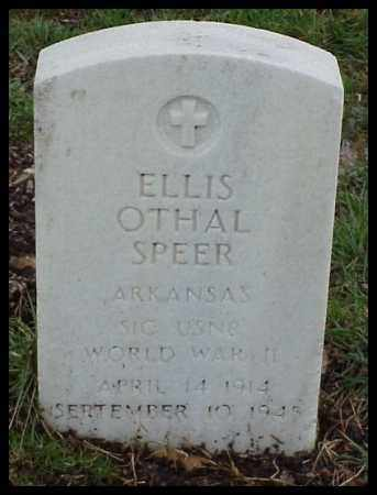 SPEER (VETERAN WWII), ELLIS OTHAL - Pulaski County, Arkansas | ELLIS OTHAL SPEER (VETERAN WWII) - Arkansas Gravestone Photos