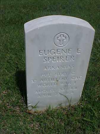 SPEIRER (VETERAN WWI), EUGENE E - Pulaski County, Arkansas | EUGENE E SPEIRER (VETERAN WWI) - Arkansas Gravestone Photos
