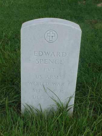 SPENCE (VETERAN WWI), EDWARD - Pulaski County, Arkansas | EDWARD SPENCE (VETERAN WWI) - Arkansas Gravestone Photos