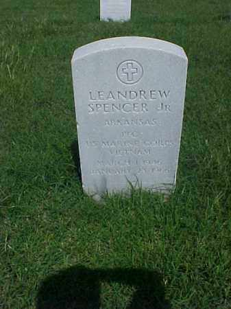 SPENCER, JR (VETERAN VIET), LEANDREW - Pulaski County, Arkansas | LEANDREW SPENCER, JR (VETERAN VIET) - Arkansas Gravestone Photos