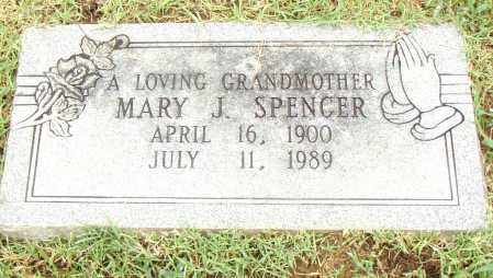 SPENCER, MARY J. - Pulaski County, Arkansas | MARY J. SPENCER - Arkansas Gravestone Photos