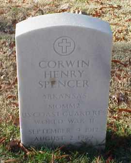 SPENCER (VETERAN WWII), CORWIN HENRY - Pulaski County, Arkansas | CORWIN HENRY SPENCER (VETERAN WWII) - Arkansas Gravestone Photos