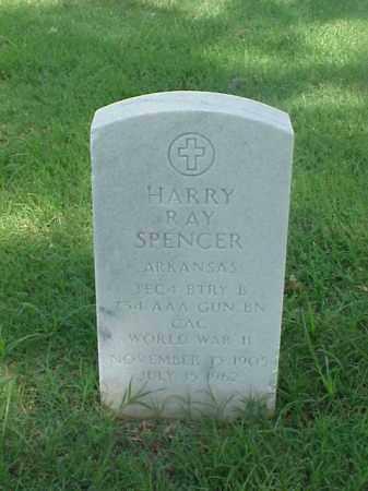 SPENCER (VETERAN WWII), HARRY RAY - Pulaski County, Arkansas | HARRY RAY SPENCER (VETERAN WWII) - Arkansas Gravestone Photos