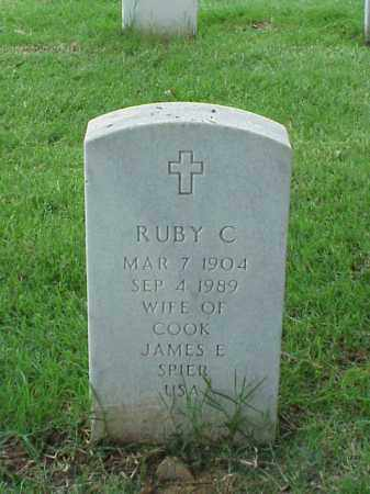 SPIER, RUBY C - Pulaski County, Arkansas | RUBY C SPIER - Arkansas Gravestone Photos