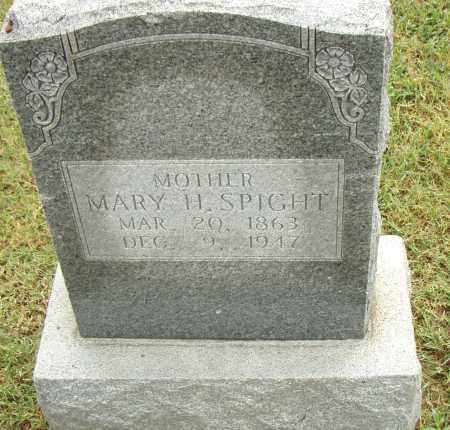 SPIGHT, MARY H. - Pulaski County, Arkansas | MARY H. SPIGHT - Arkansas Gravestone Photos