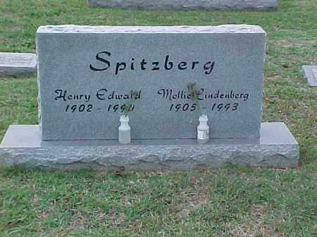 SPITZBERG, MOLLIE - Pulaski County, Arkansas | MOLLIE SPITZBERG - Arkansas Gravestone Photos