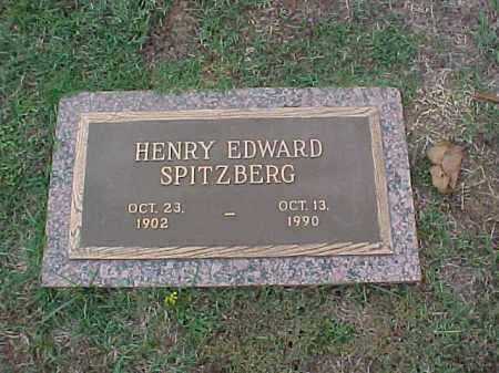 SPITZBERG, HENRY EDWARD - Pulaski County, Arkansas | HENRY EDWARD SPITZBERG - Arkansas Gravestone Photos