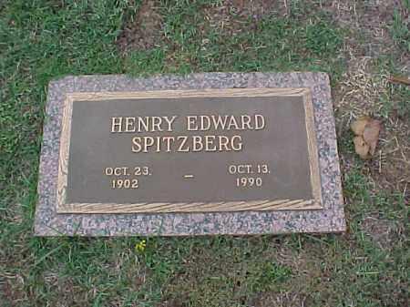 SPITZBERG, HENRY EDWARD - Pulaski County, Arkansas | HENRY EDWARD SPITZBERG - Arkansas Gravestone Photos