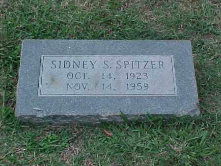 SPITZER, SIDNEY S - Pulaski County, Arkansas | SIDNEY S SPITZER - Arkansas Gravestone Photos