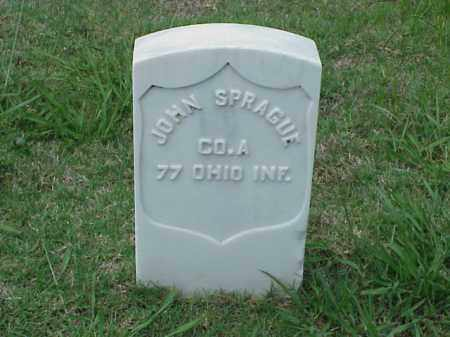 SPRAGUE (VETERAN UNION), JOHN - Pulaski County, Arkansas | JOHN SPRAGUE (VETERAN UNION) - Arkansas Gravestone Photos