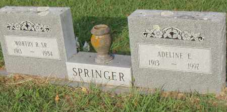 SPRINGER, ADELINE E. - Pulaski County, Arkansas | ADELINE E. SPRINGER - Arkansas Gravestone Photos