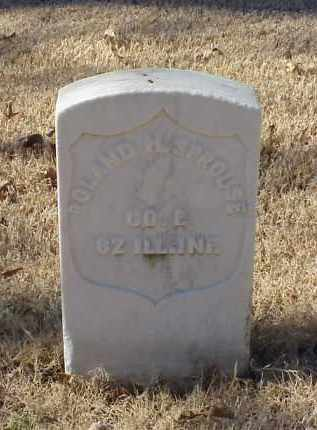 SPROUSE (VETERAN UNION), ROLAND H - Pulaski County, Arkansas | ROLAND H SPROUSE (VETERAN UNION) - Arkansas Gravestone Photos