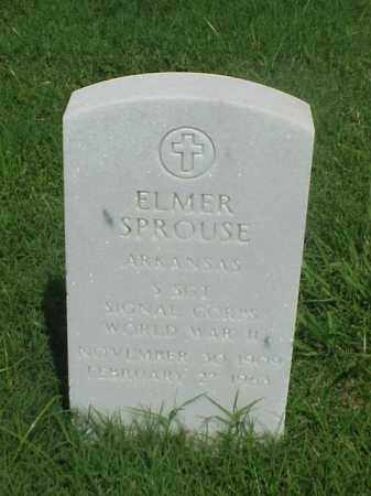SPROUSE (VETERAN WWII), ELMER - Pulaski County, Arkansas | ELMER SPROUSE (VETERAN WWII) - Arkansas Gravestone Photos
