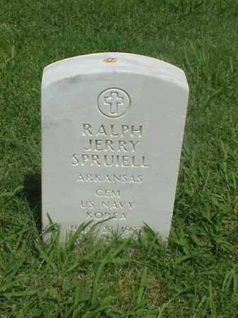 SPRUIELL (VETERAN KOR), RALPH JERRY - Pulaski County, Arkansas | RALPH JERRY SPRUIELL (VETERAN KOR) - Arkansas Gravestone Photos