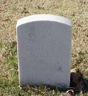 SQUIRES (VETERAN KOR), GEORGE V - Pulaski County, Arkansas | GEORGE V SQUIRES (VETERAN KOR) - Arkansas Gravestone Photos