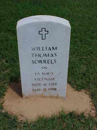SORRELS (VETERAN VIET), WILLIAM THOMAS - Pulaski County, Arkansas | WILLIAM THOMAS SORRELS (VETERAN VIET) - Arkansas Gravestone Photos