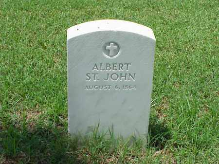 ST. JOHN (VETERAN UNION), ALBERT - Pulaski County, Arkansas | ALBERT ST. JOHN (VETERAN UNION) - Arkansas Gravestone Photos