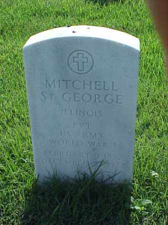 ST GEORGE (VETERAN WWI), MITCHELL - Pulaski County, Arkansas | MITCHELL ST GEORGE (VETERAN WWI) - Arkansas Gravestone Photos