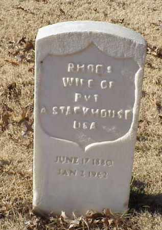 STACKHOUSE, RHODA - Pulaski County, Arkansas | RHODA STACKHOUSE - Arkansas Gravestone Photos