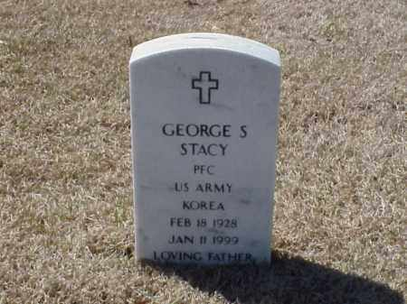 STACY (VETERAN KOR), GEORGE S - Pulaski County, Arkansas | GEORGE S STACY (VETERAN KOR) - Arkansas Gravestone Photos