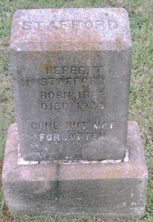 STAFFORD, HERBERT - Pulaski County, Arkansas | HERBERT STAFFORD - Arkansas Gravestone Photos