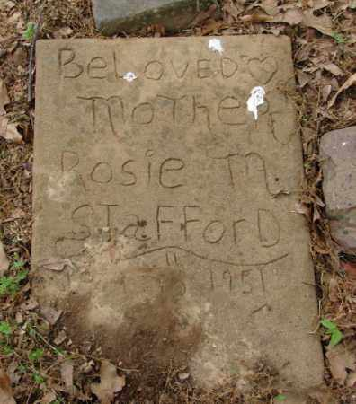STAFFORD, ROSIE M. - Pulaski County, Arkansas   ROSIE M. STAFFORD - Arkansas Gravestone Photos