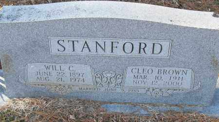 STANFORD, WILL C - Pulaski County, Arkansas | WILL C STANFORD - Arkansas Gravestone Photos