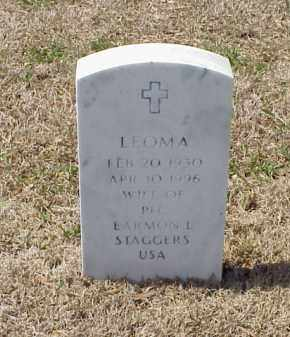 STAGGERS, LEOMA - Pulaski County, Arkansas | LEOMA STAGGERS - Arkansas Gravestone Photos