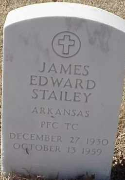STAILEY  (VETERAN KOR), JAMES EDWARD - Pulaski County, Arkansas | JAMES EDWARD STAILEY  (VETERAN KOR) - Arkansas Gravestone Photos