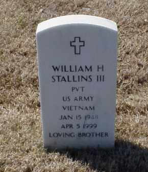 STALLINS III (VETERAN VIET), WILLIAM H - Pulaski County, Arkansas | WILLIAM H STALLINS III (VETERAN VIET) - Arkansas Gravestone Photos
