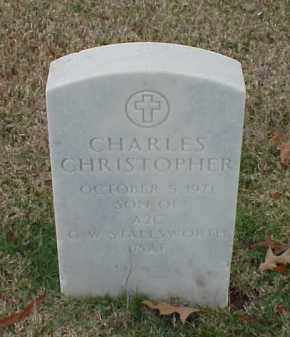 STALLSWORTH, CHARLES CHRISTOPHER - Pulaski County, Arkansas | CHARLES CHRISTOPHER STALLSWORTH - Arkansas Gravestone Photos