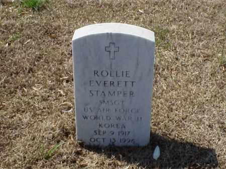 STAMPER, JR (VETERAN 2 WARS), ROLLIE EVERETT - Pulaski County, Arkansas | ROLLIE EVERETT STAMPER, JR (VETERAN 2 WARS) - Arkansas Gravestone Photos