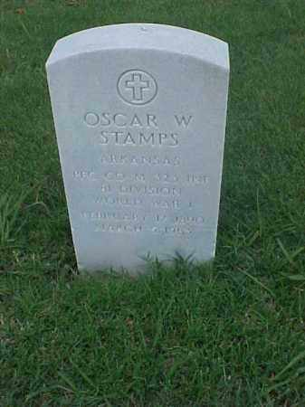 STAMPS (VETERAN WWI), OSCAR W - Pulaski County, Arkansas | OSCAR W STAMPS (VETERAN WWI) - Arkansas Gravestone Photos