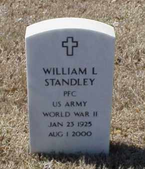 STANDLEY (VETERAN WWII), WILLIAM L - Pulaski County, Arkansas | WILLIAM L STANDLEY (VETERAN WWII) - Arkansas Gravestone Photos