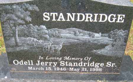 STANDRIDGE, ODELL JERRY SR. - Pulaski County, Arkansas | ODELL JERRY SR. STANDRIDGE - Arkansas Gravestone Photos