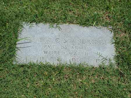 STANDRIDGE (VETERAN WWII), GILBERT G - Pulaski County, Arkansas | GILBERT G STANDRIDGE (VETERAN WWII) - Arkansas Gravestone Photos