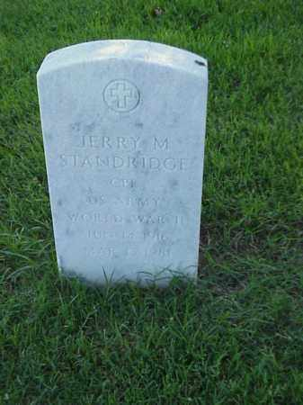 STANDRIDGE (VETERAN WWII), JERRY M - Pulaski County, Arkansas | JERRY M STANDRIDGE (VETERAN WWII) - Arkansas Gravestone Photos