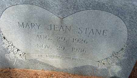 STANE, MARY JEAN - Pulaski County, Arkansas | MARY JEAN STANE - Arkansas Gravestone Photos