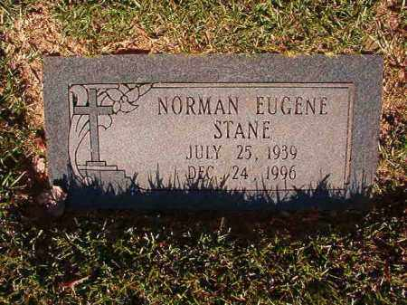 STANE, NORMAN EUGENE - Pulaski County, Arkansas | NORMAN EUGENE STANE - Arkansas Gravestone Photos